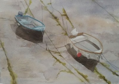 Boats in mud 1