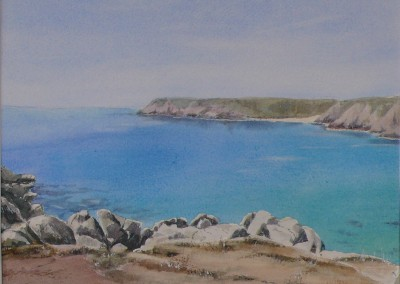 Porthcurno from Treen