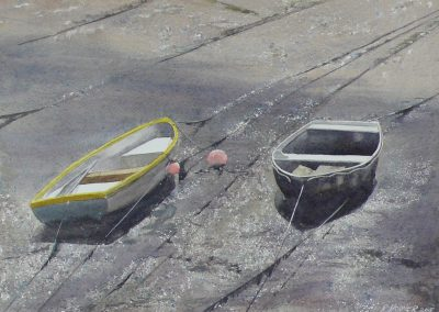 Boats in Mud