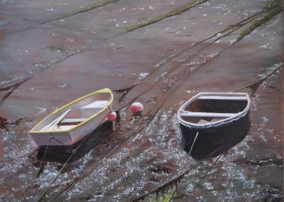 Boats in the Mud 3