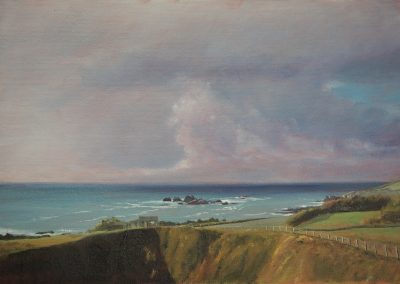 Lizard Point with Stormclouds
