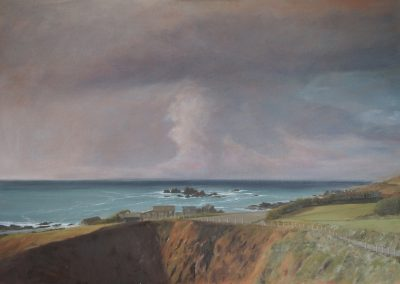 Storm Clouds over Lizard Point