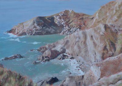 Halzephron Cliffs
